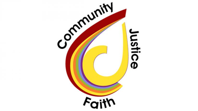 Core values: Community, Faith, Justice