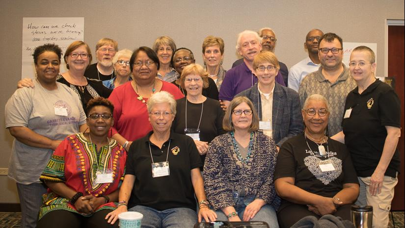 group photo of participants at JUSTice Summit Chicago 2017